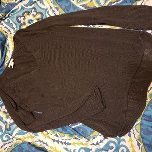 Basic charcoal/black sweater
